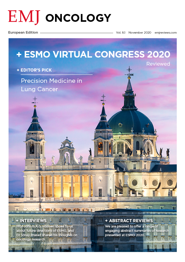 EMJ Oncology 8.1 2020 Front Cover