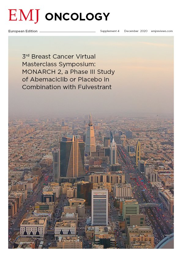 EMJ Oncology 8 [Supplement 4] 2020 Front Cover