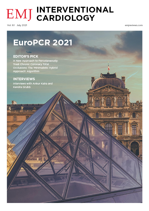EMJ Interventional Cardiology 9.1 2021 Front Cover
