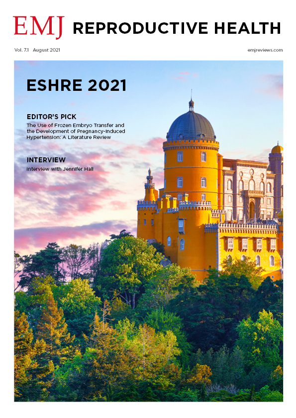 EMJ Reproductive Health 7.1 2021 Front Cover